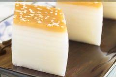 Layered Rice Cakes Stock Image