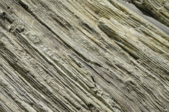 Layered rock Royalty Free Stock Photography