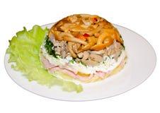 Layered salad Royalty Free Stock Photo