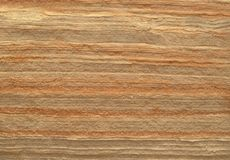 Layered sandstone texture. Royalty Free Stock Photo