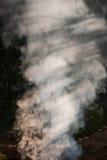 Layered smoke Stock Image