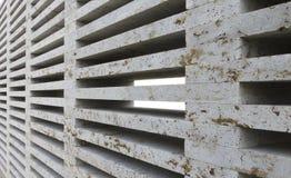 Layered stone wall Stock Photo