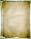 Layered vintage papers. Layered vintage/torn papers on grunge background; excellent detail Stock Photography