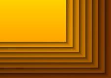 Layeres arancio Fotografia Stock Libera da Diritti