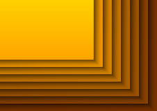 Layeres orange Photo libre de droits