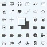 Layering icon. web icons universal set for web and mobile. On colored background royalty free illustration