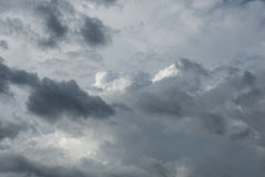 Layers of clouds Royalty Free Stock Photography