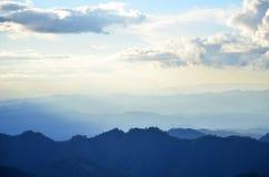 Layers of mountain Stock Photo