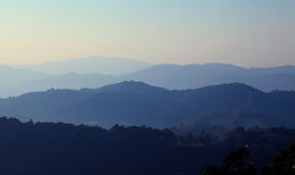 Layers of mountain Stock Photos