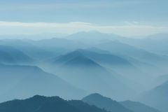 Layers of mountain Stock Photos