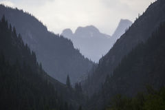 Layers of Mountains from Silverton, Colorado, USA Stock Photography