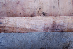 Layers of Old wood background Stock Photos