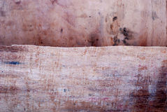 Layers of Old wood background Stock Photo