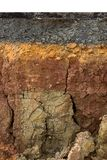 The layers of road. Un-focus image Stock Photos