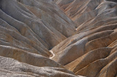 Layers of rocks. Colorful layers of rocks in death valley Stock Image