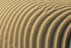 Layers Of Sand. Wonderful and clean waves of sands layers Royalty Free Stock Photography