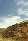 Layers of soil Royalty Free Stock Images
