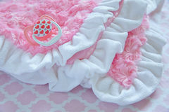 Layette for newborn baby girl Stock Photography