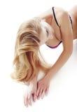 Laying beauty Stock Image