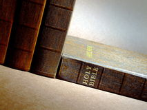 Laying Bible Stock Photo