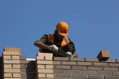 Free Laying Bricks Stock Photo - 24138780
