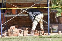 Laying Bricks Stock Photos