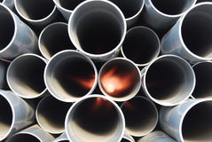 Laying Pipe Royalty Free Stock Image