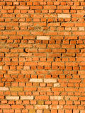 Laying of a wall from a brick Stock Photo