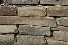 Laying of wild stone Royalty Free Stock Photo