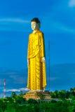 Laykyun Sekkya在Monywa缅甸Bodhi站立菩萨的Tataung是第二个高雕象在世界上 库存照片