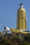 Laykyun Sekkya菩萨- Monywa -缅甸 免版税库存照片