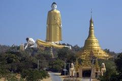 Laykyun Sekkya - Monywa -缅甸 免版税图库摄影
