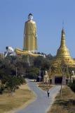 Laykyun Sekkya - Monywa -缅甸 免版税库存图片