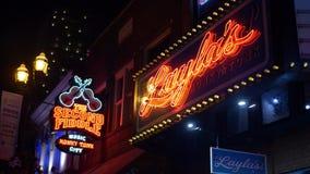 Laylas Antivari da bettola ed in secondo luogo fiddle a Nashville - Nashville, Stati Uniti - 16 giugno 2019 stock footage