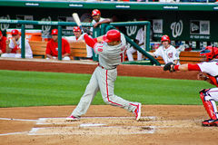 Laynce Nix Philadelphia Phillies Royalty Free Stock Images
