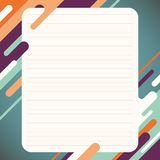 Layout with abstraction. Royalty Free Stock Photo