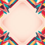 Layout with colorful abstraction. Royalty Free Stock Photo