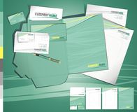 Free Layout Creative Contemporary Business Tamplate Royalty Free Stock Photography - 13069327