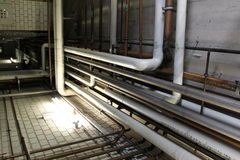 Free Layout Of Pipes Stock Photo - 22851170