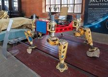 Layout planetary rover. TOGLIATTI, RUSSIA - MAY 2, 2013: Layout planetary rover Lunokhod-1 in Togliatti Technical museum Stock Photography