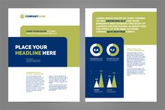 Layout template design vector illustration