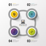 Layout for your options or steps. Modern design template. Infographics. Vector illustration Royalty Free Stock Photo