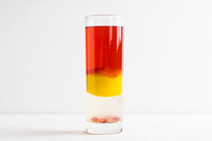 Layred cocktail Royalty Free Stock Photography