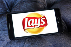 Lays chips logo Royalty Free Stock Photos