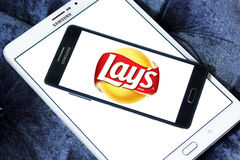 Lays chips logo Stock Photo