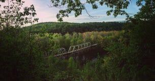 Layton桥梁宾夕法尼亚 库存照片