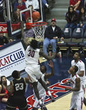 A Layup by Arizona Wildcat Angelo Chol Stock Photo