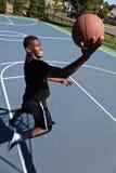 Layup del baloncesto imágenes de archivo libres de regalías