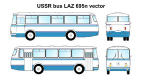 LAZ 695n vector Stock Photo