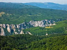 Lazar's gorge, one of the most inaccessible places in Serbia Stock Image